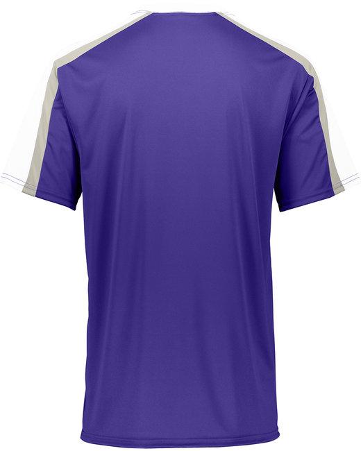 6 Adult Power Plus Jersey 2.0 - Purple/ Wh/ S Gr