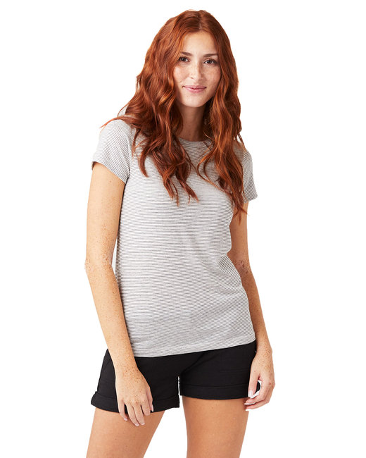 Alternative Ladies' Ideal Eco-Jersey™ T-Shirt - Ec Ivry Sesd Str