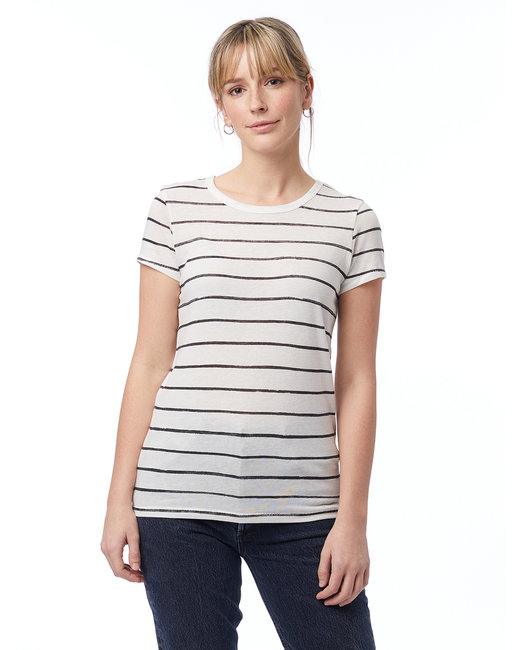 Alternative Ladies' Ideal Eco-Jersey™ T-Shirt - Eco Ivry Ink Str