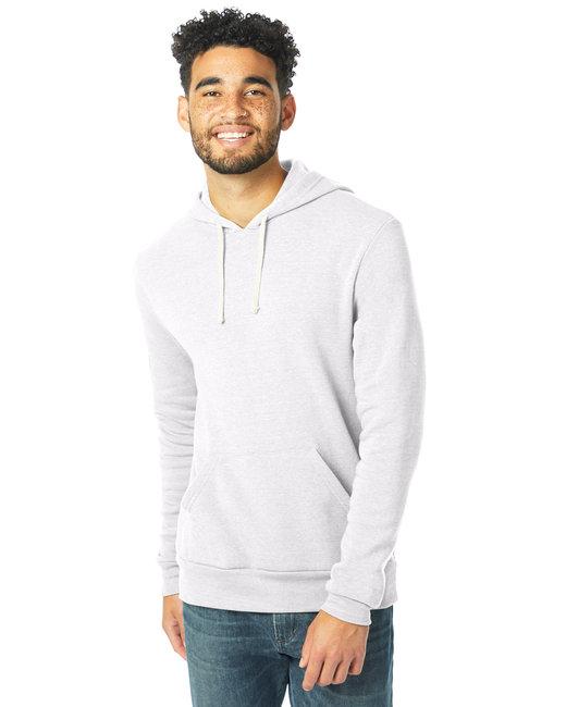 Alternative Unisex Challenger Eco-Fleece Hoodie - Eco White