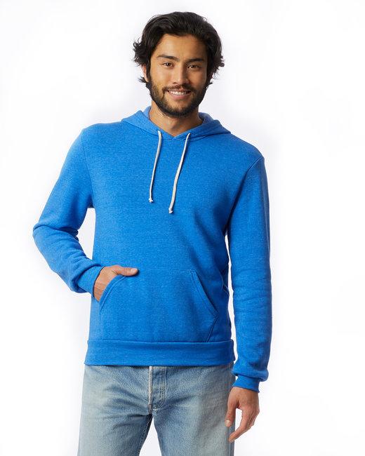Alternative Unisex Challenger Eco-Fleece Hoodie - Ec Tr Pacif Blue