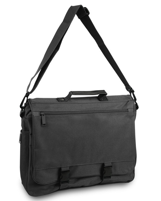 Liberty Bags GOH Getter Expandable Messenger Bag - Black