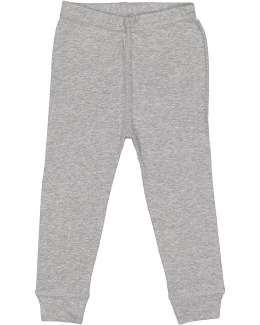 Rabbit Skins Infant Baby Rib Pajama Pant - Heather