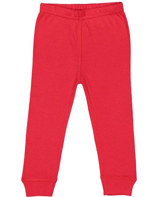 Rabbit Skins Infant Baby Rib Pajama Pant - Red