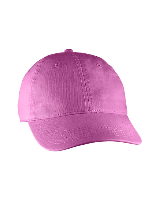 Comfort Colors Direct-Dyed Canvas Baseball Cap - Raspberry