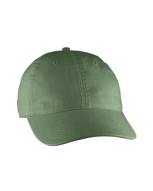 Comfort Colors Direct-Dyed Canvas Baseball Cap - Sage