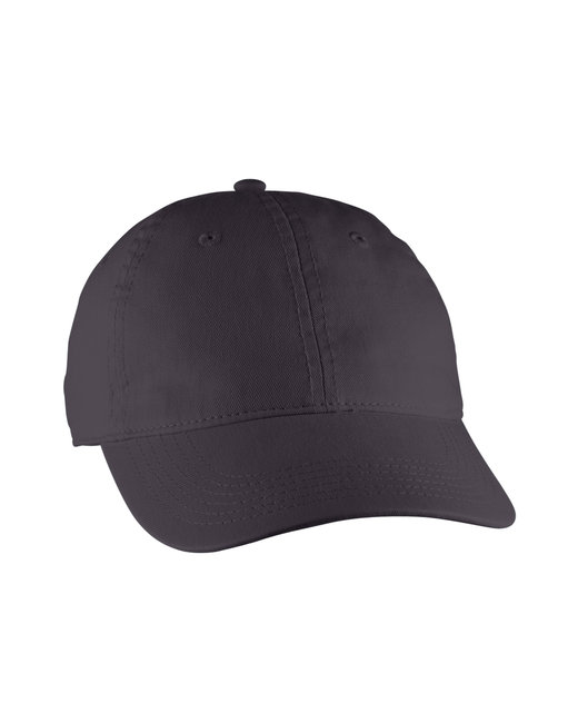 Comfort Colors Direct-Dyed Canvas Baseball Cap - Graphite