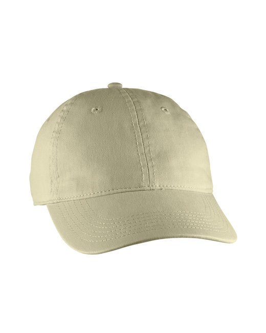 Comfort Colors Direct-Dyed Canvas Baseball Cap - Stone