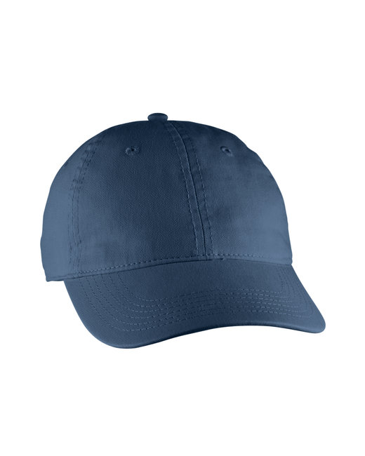 Comfort Colors Direct-Dyed Canvas Baseball Cap - True Navy
