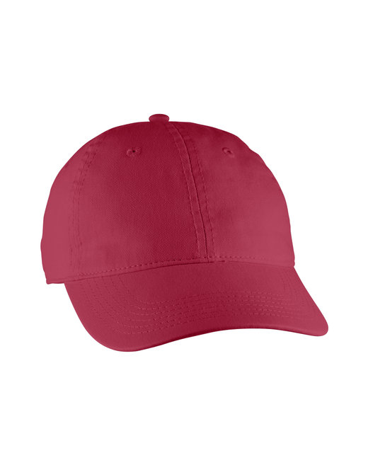Comfort Colors Direct-Dyed Canvas Baseball Cap - Chili Pepper