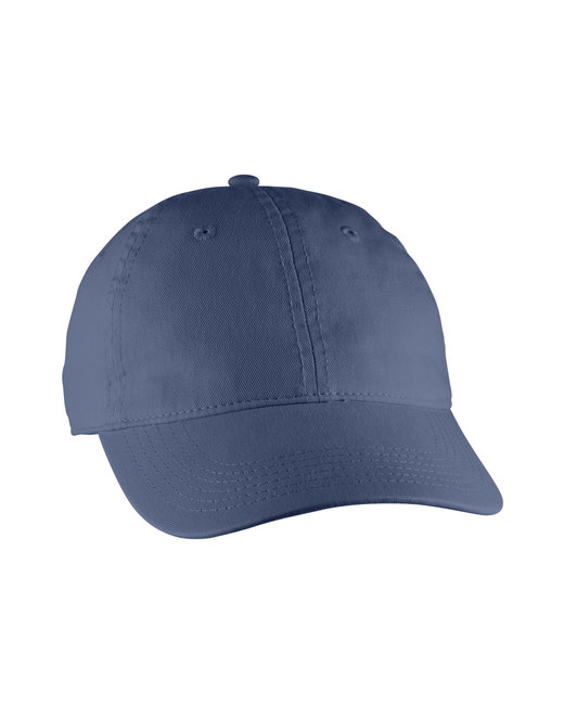 Comfort Colors Direct-Dyed Canvas Baseball Cap - China Blue