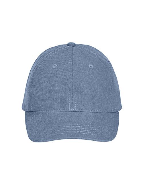 Comfort Colors Pigment-Dyed Canvas Baseball Cap - Blue Jean