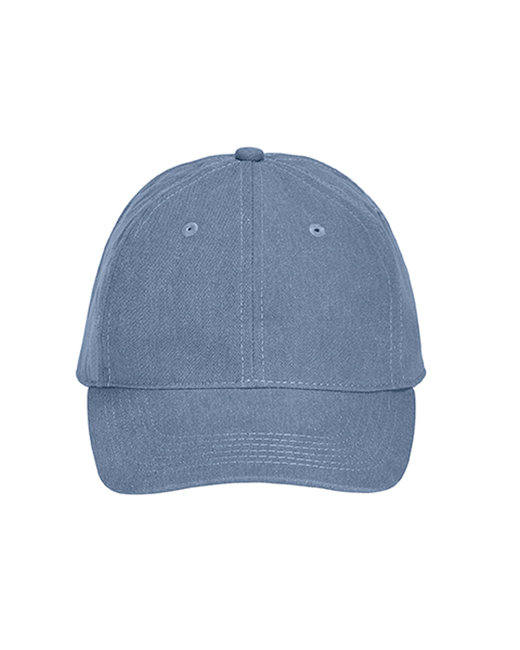 Comfort Colors Pigment-Dyed Canvas Baseball Cap - Blue Jean