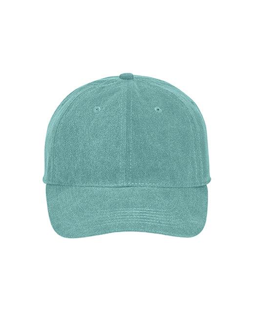 Comfort Colors Pigment-Dyed Canvas Baseball Cap - Seafoam