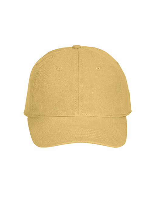 Comfort Colors Pigment-Dyed Canvas Baseball Cap - Mustard