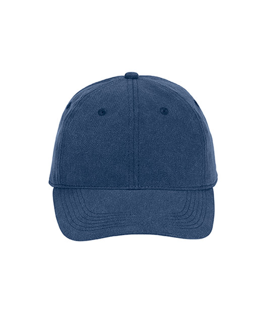 Comfort Colors Pigment-Dyed Canvas Baseball Cap - Navy