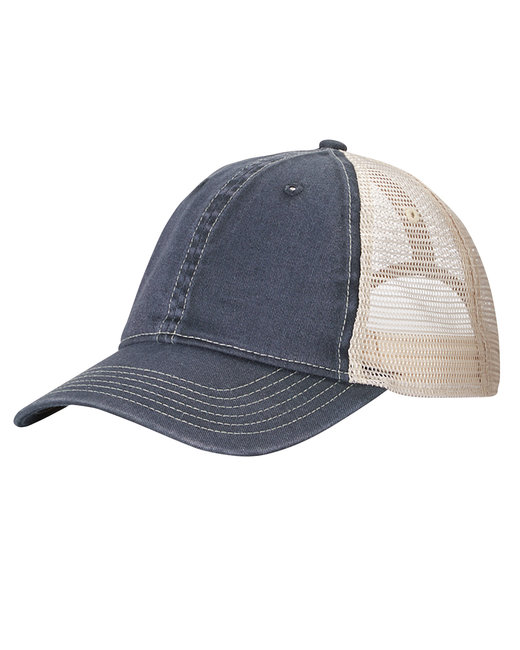 Comfort Colors Unstructured Trucker Cap - Graphite/ Ivory