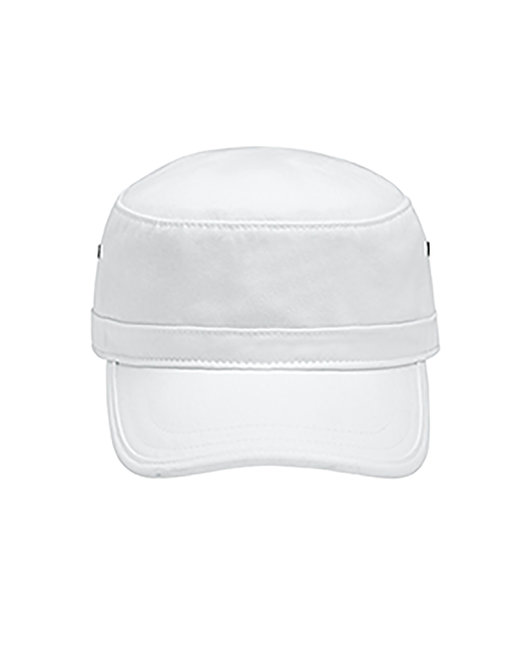 Comfort Colors Canvas Caf� Cap - White