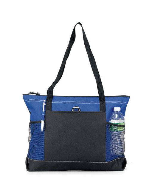 Gemline Select Zippered Tote - Royal Blue