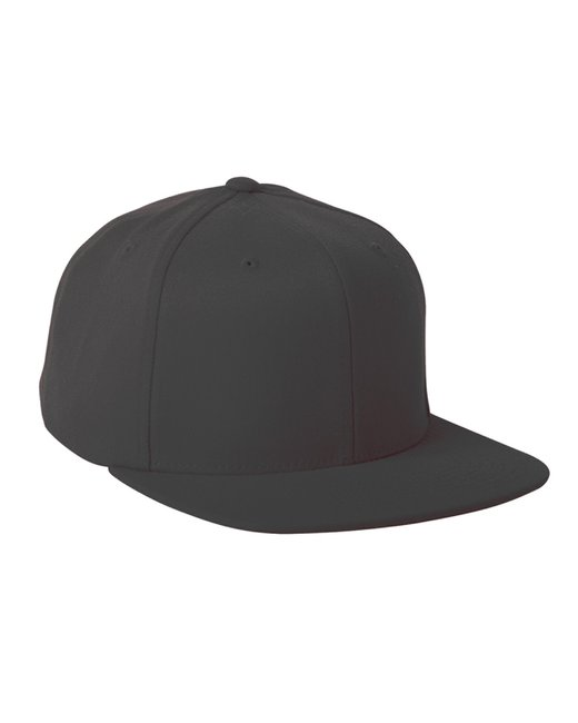 Flexfit Adult Wool Blend Snapback Cap - Black