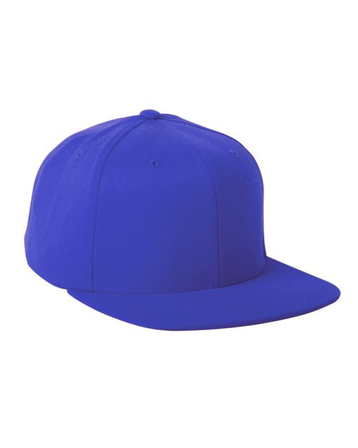 Flexfit Adult Wool Blend Snapback Cap - Royal