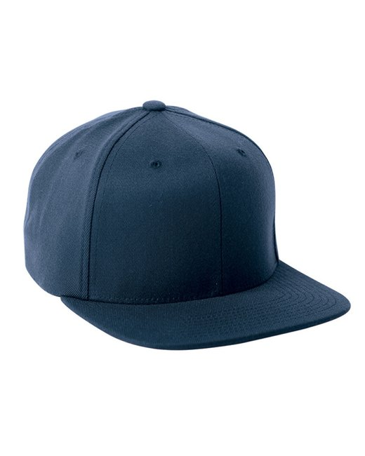 Flexfit Adult Wool Blend Snapback Cap - Navy