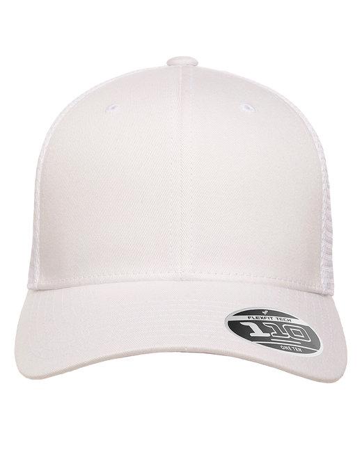 Flexfit Adult 110® Mesh Cap - White