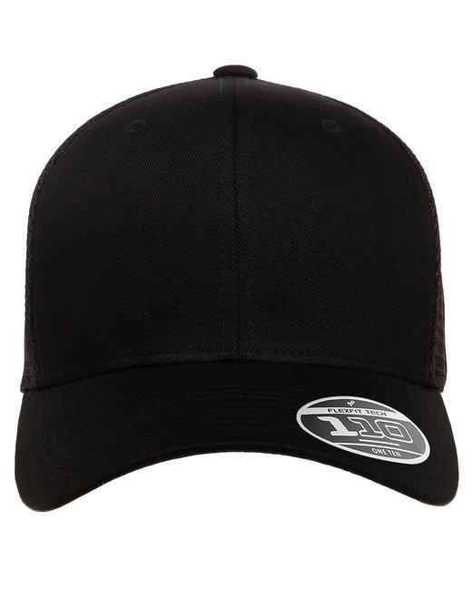Flexfit Adult 110® Mesh Cap - Black