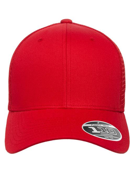 Flexfit Adult 110® Mesh Cap - Red