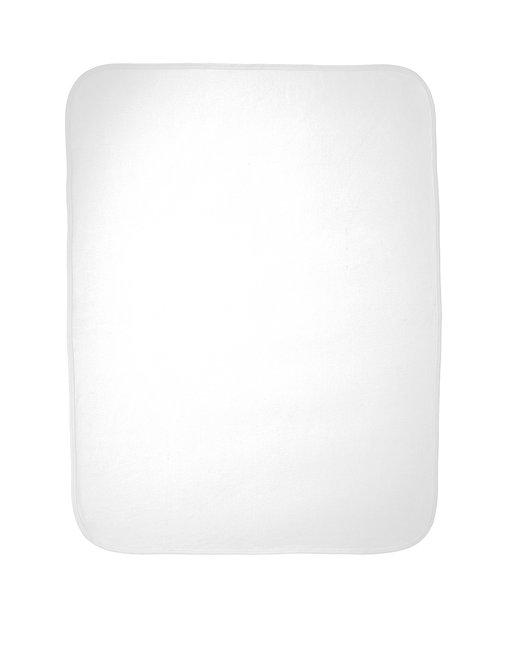 Rabbit Skins Infant Premium Jersey Blanket - White