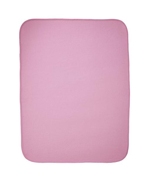 Rabbit Skins Infant Premium Jersey Blanket - Pink