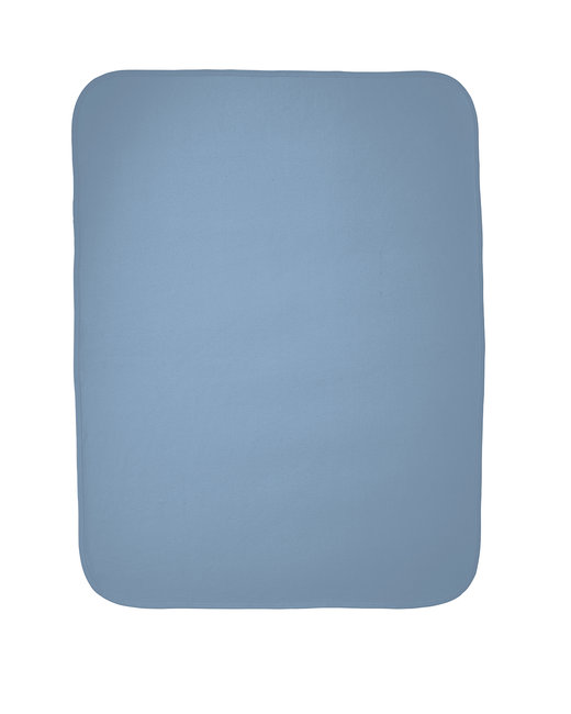 Rabbit Skins Infant Premium Jersey Blanket - Light Blue