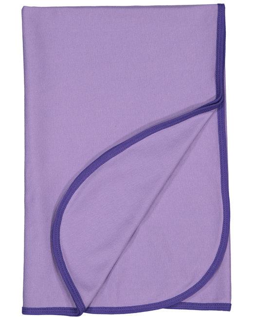 Rabbit Skins Infant Premium Jersey Blanket - Lavender/ Purple