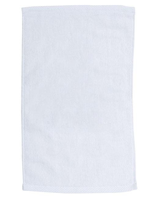 Pro Towels Velour Fingertip Sport Towel - White
