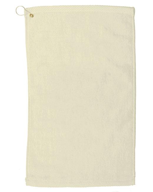 Pro Towels Velour Fingertip Golf Towel - Natural