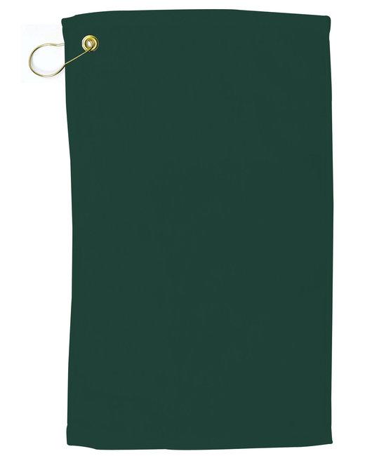 Pro Towels Velour Fingertip Golf Towel - Hunter Green