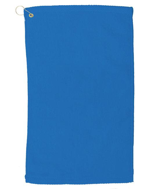 Pro Towels Velour Fingertip Golf Towel - Royal Blue