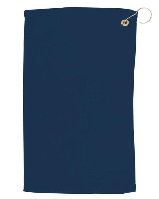Pro Towels Velour Fingertip Golf Towel - Navy
