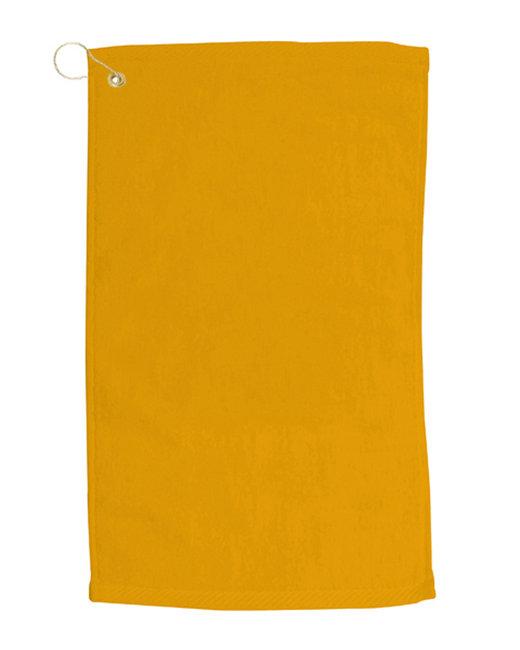 Pro Towels Velour Fingertip Golf Towel - Gold