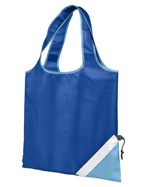 Gemline Latitiudes Foldaway Shopper Tote - Royal Blue