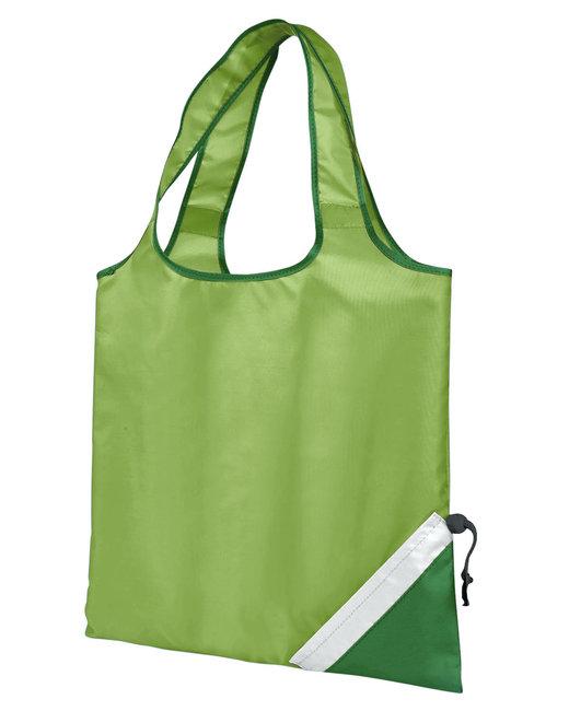 Gemline Latitiudes Foldaway Shopper Tote - Apple Green