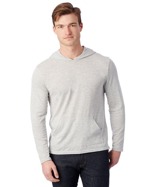 Alternative Unisex Marathon Eco-Jersey™ Pullover Hoodie - Eco Light Grey