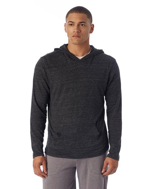 Alternative Unisex Marathon Eco-Jersey™ Pullover Hoodie - Eco Black