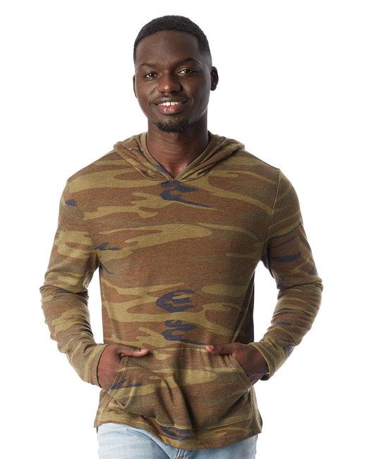 Alternative Unisex Marathon Eco-Jersey™ Pullover Hoodie - Camo