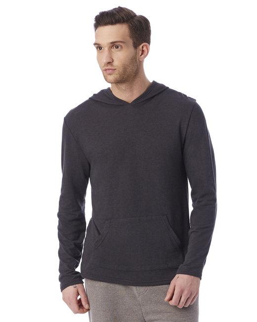 Alternative Unisex Marathon Eco-Jersey™ Pullover Hoodie - Eco True Black