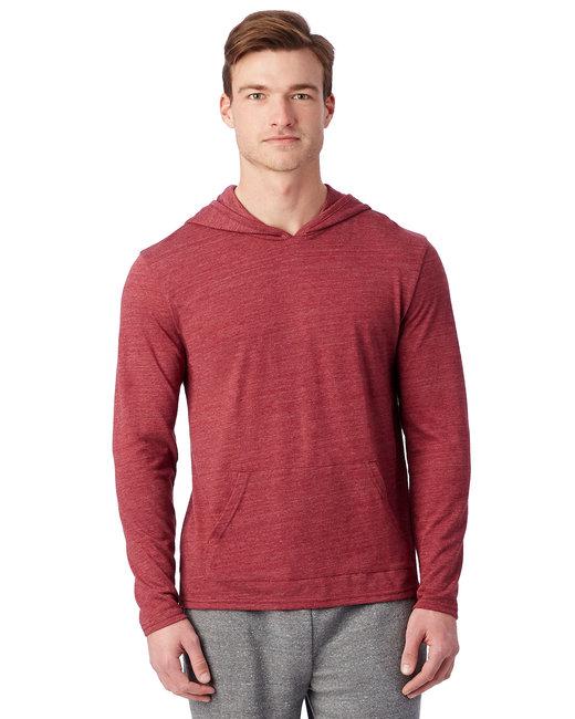Alternative Unisex Marathon Eco-Jersey™ Pullover Hoodie - Eco True Currant