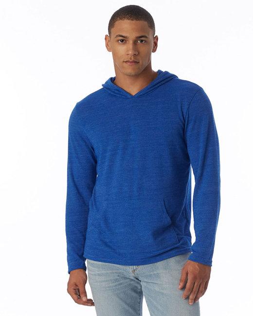 Alternative Unisex Marathon Eco-Jersey™ Pullover Hoodie - Ec Tr Pacif Blue
