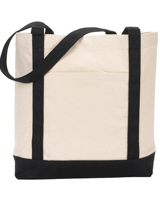 Gemline Ensign's Boat Bag - Natural/ Black