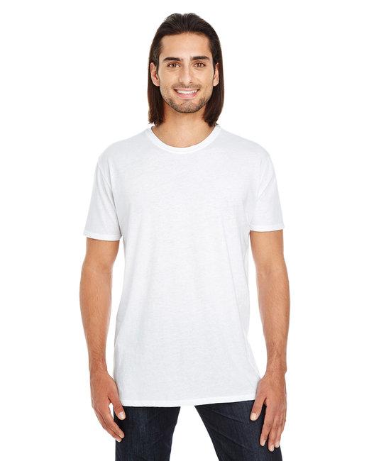 Threadfast Apparel Unisex Pigment-Dye Short-Sleeve T-Shirt - White