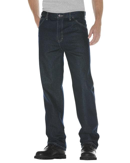 Dickies Unisex Relaxed Straight Fit 5-Pocket Denim Jean Pant - Tnt Hrt Khaki  30